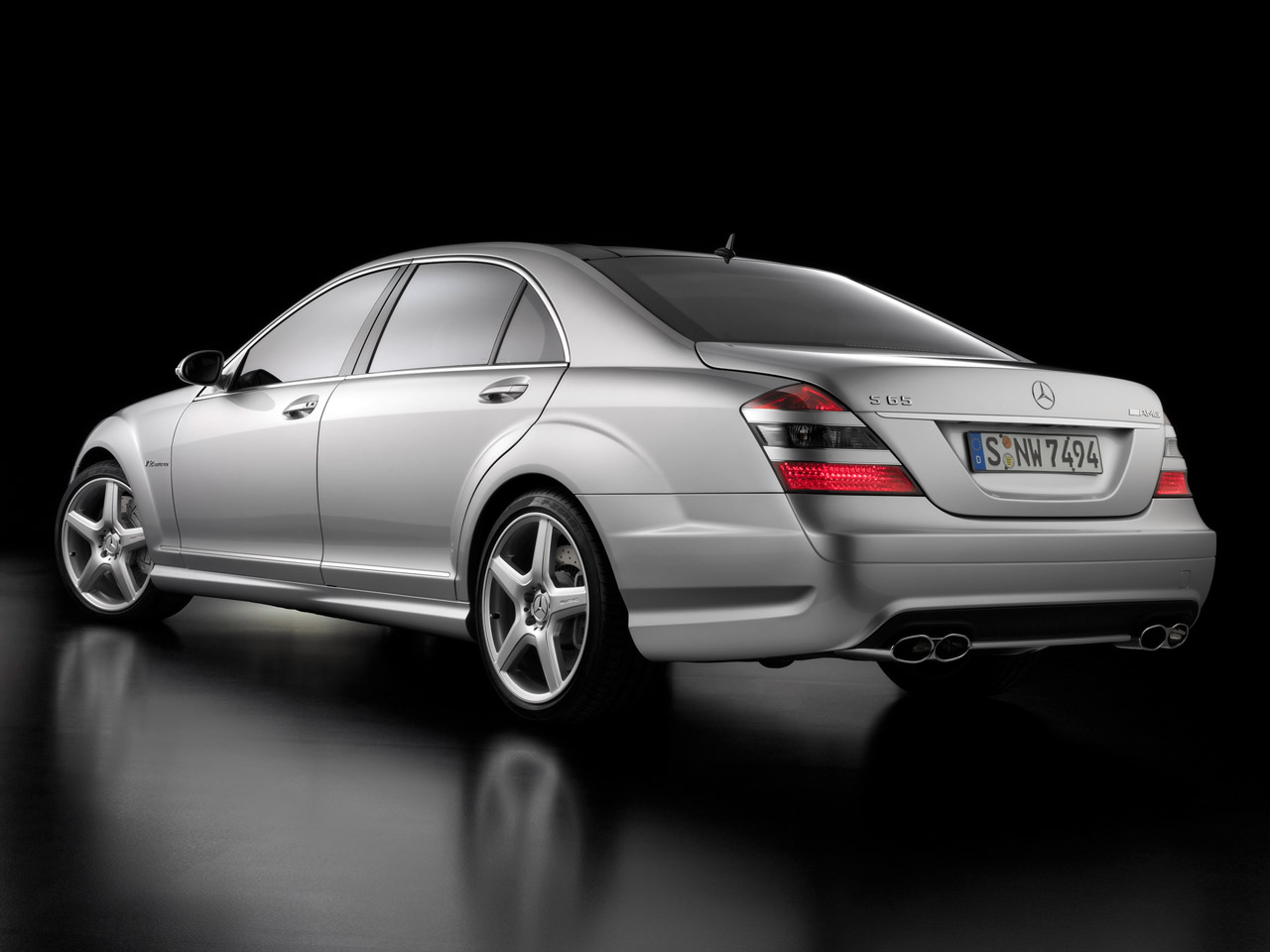 Luxury Saloon Car