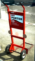 Heathrow Porters Trolley